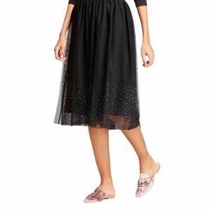 NWOT A New Day Tulle Midi Skirt